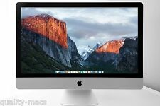 "LATE 2015 27"" 5K Apple iMac desktop 3.2- 3.6GHz Skylake i5 8GB RAM 1TB Fusion HD"