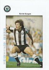 KEVIN KEEGAN NEWCASTLE UNITED 1982-1984 MGR 92-97 & 08 ORIG SIGNED MAG CUTTING