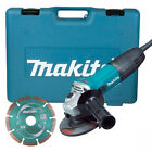 "MAKITA GA4530KD 720W 4.5"" 115mm ELECTRIC 240V ANGLE GRINDER IN CASE & DISC NEW"