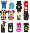Various Cartoon 3D Cute Animals Soft Silicone Cover Case For Vatious Phone U3
