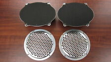 Holden HQ HJ HX HZ Parcel Shelf Speakers and Grille Covers 5x7 Pair Monaro GTS