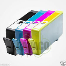 4 PACK HP 564XL HP 564 XL Ink Cartridge Set PhotoSmart Pro B8850 C6380 B209a