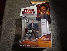 "Luke Skywalker Star Wars Legacy Collection Hasbro Action Figure 3.75"" NM SL17"