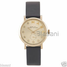 Marc by Marc Jacobs Original MBM1399 Women's Baker Black Leather Watch