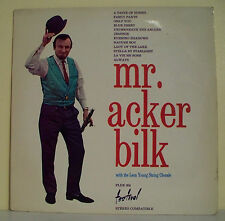 "33T Mr. Acker BILK Disque LP 12"" WITH THE LEON YOUNG STRING CHORALE FESTIVAL 454"