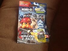 Kre-O Cityville Invasion Series 3 Population 2 Packs x5