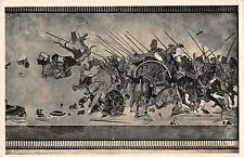 BR47070  Postcard napoli museo nazionale battaglia fra dario ed Allesandro italy