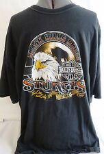 HARLEY DAVIDSON-MENS T-SHIRT-BLACK HILLS STURGIS RALLY-RAPID CITY S.D. 2XL-XXL