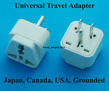 Canada Ground Type B Universal Travel Adapter for UK USA AUS EURO AC Power plug