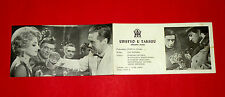 LAST COURSE 1963 POLAND RYLSKA SOKOLOWSKA JAN BATORY UNIQUE EXYU MOVIE PROGRAM