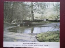 POSTCARD GLOUCESTERSHIRE KINETON - STONE BRIDGE & FORD