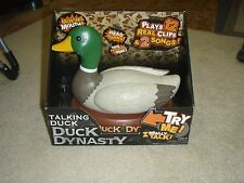Duck Dynasty Singing & Talking Mechanical Duck 2 Songs 12 Phrases BRAND NEW