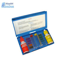 CONTROLLO ANALISI ACQUA CLORO E PH PER PISCINE KIT REAGENTI OTO E PHENOL RED