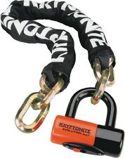 Kryptonite New York Chain 1210 and Evolution Disc Lock 3.25 Series 4 14mm Shackl