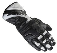 GUANTO IN PELLE NERO/ BIANCO MOTO SPORT TOURING RACING STS-S A163 SPIDI SIZE 3XL