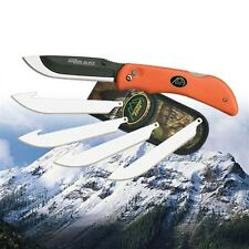 Outdoor Edge Razor Blaze Folding Knife with 6 Free Blades & Sheath RB-20