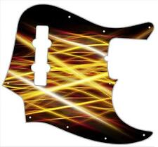 J Bass Pickguard Custom Fender Graphic Graphical Guitar Pick Guard Abstract 8