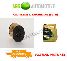 DIESEL OIL FILTER + FS F 5W30 ENGINE OIL FOR FORD MONDEO 2.2 175 BHP 2008-10