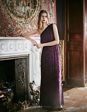 New MONSOON Ember Purple Maxi Evening Dress Ballgown Size 18 BNWT £169 SOLD OUT