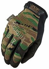 Mechanix Wear ORIGINAL Gloves WOODLAND CAMO (BLACK) SMALL (8)