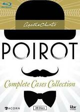 Agatha Christie's Poirot Complete Cases Collection Blu-ray 28 Disc Set 2014 NEW