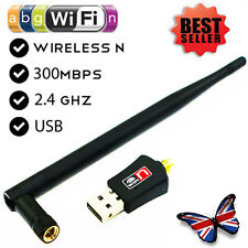 WIFI 300 Mbps Wireless Adattatore Antenna 802.11 G N Rete LAN Adattatore USB Dongle