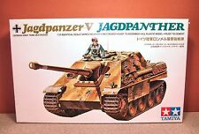1/35 TAMIYA GERMAN JAGDPANZER V JAGDPANTHER MOTORIZED MODEL KIT # MT 124-600