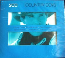 2 CD COUNTRY BOYS NEW+ SEALED BUCK OWENS/FREDDY FENDER/CHARLIE RICH And More
