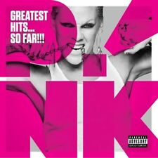 P!NK / PINK ( NEW SEALED CD ) GREATEST HITS ... SO FAR !!! [PA] VERY BEST OF