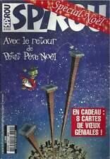 JOURNAL DE SPIROU N°3355 . 2002 + 8 CARTES DE VOEUX . ( 105 ) .