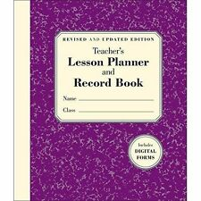 Teacher's Lesson Planner and Record Book, Embrey, Stephanie