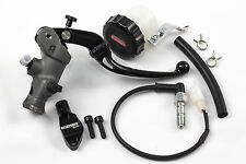 Accossato 19x20 Radial Brake Master Cylinder with Folding Lever, reservoir kit..