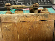 Wood case Ford Model T Coil - dove tail wood case Ford Coil, great collectible