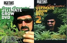Jorge Cervantes The Ultimate Grow 1 + 2 High Times New DVD Region 1