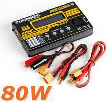 Turnigy Accucel 6 80W 10A Balancer Lipo LiFe NiMH Nicd Lead Charger LiHV Capable