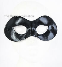 Black Domino mask Halloween superhero eyemask Zorro Harley Quinn Fancy Dress