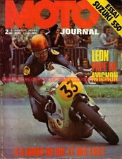 MOTO JOURNAL   82 SUZUKI GT 550 ; BENELLI 350 ; NIMBUS ; ISDT BOL d'OR 1972