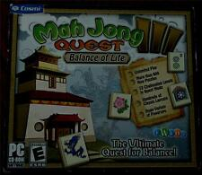 Cosmi Mah Jong III Quest, Balance of Life, PC Video Game - BRAND NEW IN PACKAGE