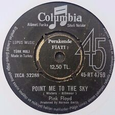 Pink Floyd - Point Me At The Sky Turkish Impossible To Find Rare 45