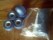 NOS 2 ROLLS BLUE TRESSOREX CLOTH HANDLE BAR TAPE