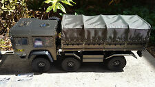 RC 6x6 Full Metal Military Truck Crawler RTR