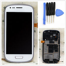 OEM Full LCD Display+Touch Screen Panel + Frame For Samsung Galaxy i8190 S3 mini