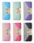 Leather Bowknot Bow Lace Style Wallet Flip Case Cover For Various Smart Phones