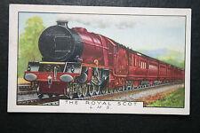 LMS    The Royal Scot Express  Original Vintage Card ## VGC