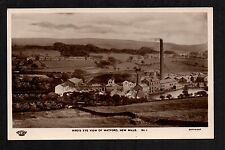 New Mills - Bird's Eye View of Watford - real photographic postcard