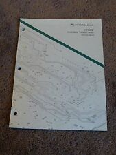 Motorola Radius HT600 Service Instruction Manual Handie Talkie Portable Radio