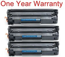3pk non-OEM black laser ink toner cartridge for HP laserjet p1006 P1005 printer