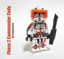 LEGO Custom - Commander Cody - Star Wars Clone Trooper Minifigure rex bly phase2