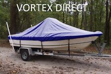 "NEW VORTEX BLUE 21'6"" CENTER CONSOLE BOAT COVER, FOR UP TO 54"" TALL CONSOLE"