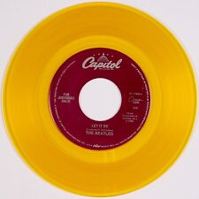 THE BEATLES: Let it Be / You Know My Name CAPITOL Juke Box YELLOW WAX 45 NM